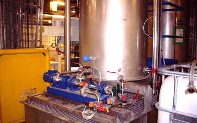 Station préparation liquide
